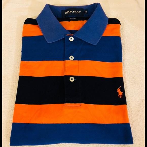 8b9b96dab5 Polo by Ralph Lauren Shirts | Polo Ralph Lauren Orange Blue Stripe ...